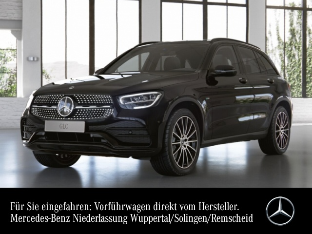 Mercedes-Benz GLC 300 e 4M AMG+Night+Pano+AHK+LED+Kamera+Keyless, Jahr 2021, Hybrid