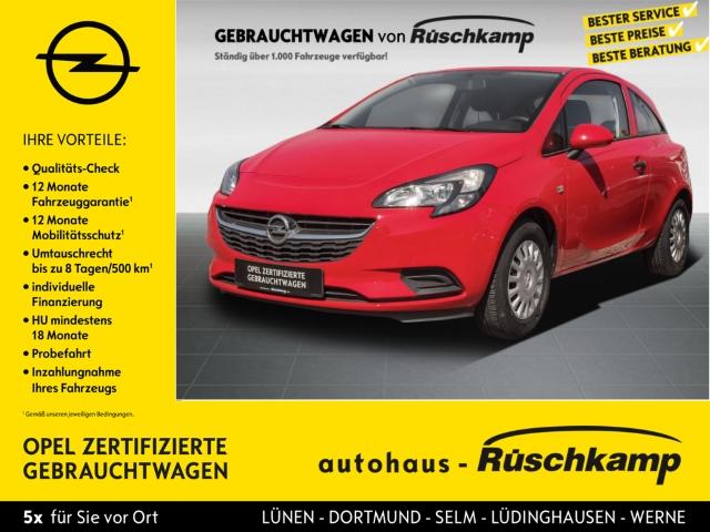 Opel Corsa E Selection 1.2 RDC Klima ESP Radio TRC Airb ABS Servo, Jahr 2016, Benzin