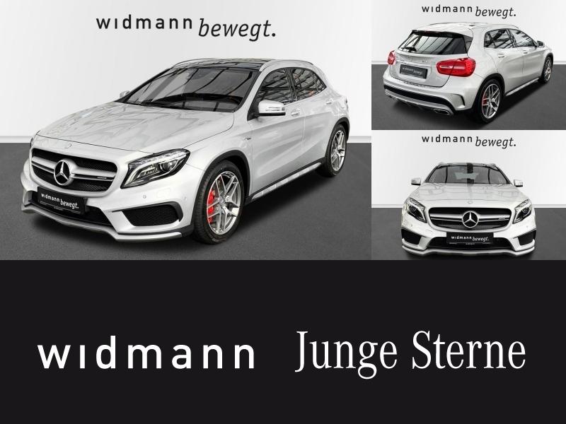 Mercedes-Benz GLA 45 AMG 4M *Panorama*Navi*Harman Soundsystem*, Jahr 2016, petrol