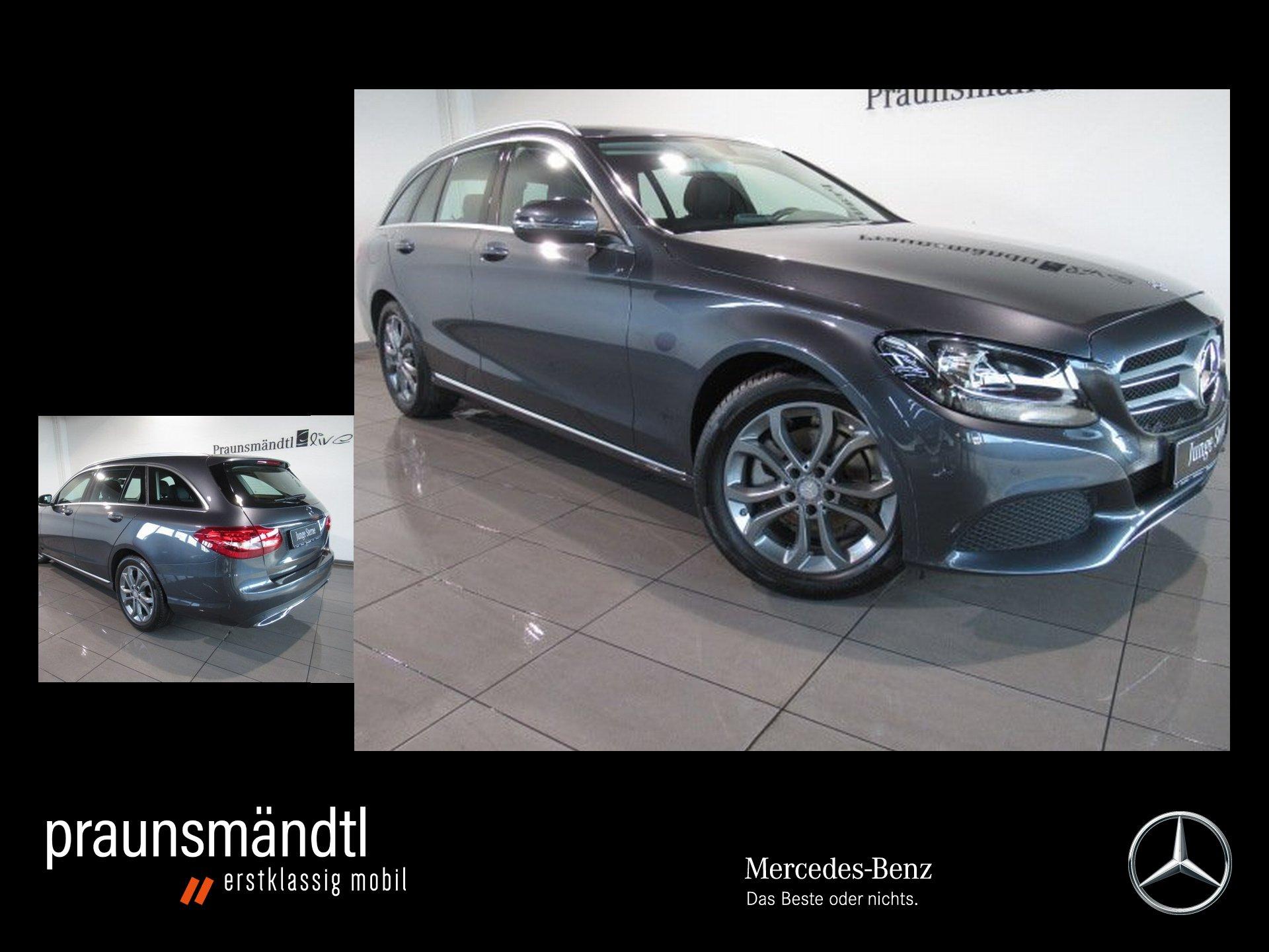Mercedes-Benz C 180 T Avantgarde PTS/Navi/SHZ/Tempomat/LMR 17, Jahr 2015, Benzin