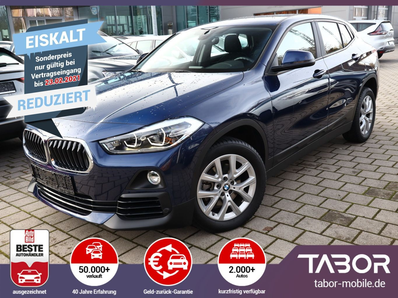 BMW X2 sDrive18i 140 DKG7 Advantage Nav SHZ LED, Jahr 2018, Benzin