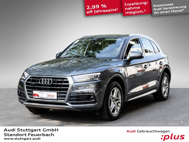 Audi Q5 Design 2.0 TDI quattro Xenon Navi Luftfeder, Jahr 2017, Diesel