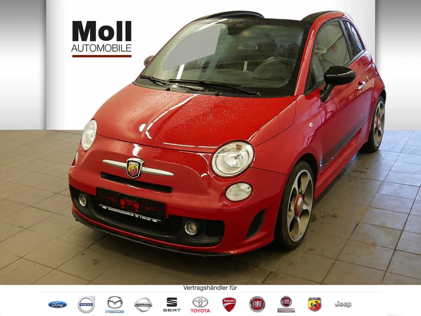 Abarth 595 C 1.4 140PS Custom, Jahr 2015, Benzin