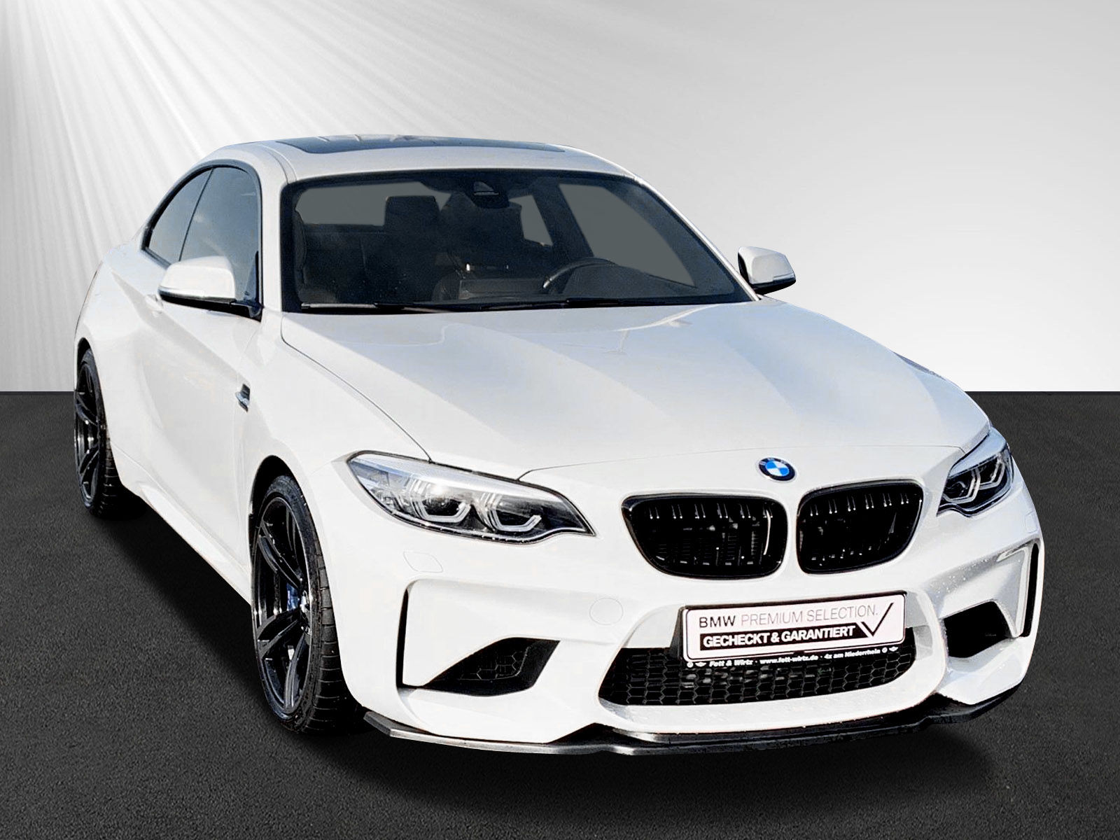 BMW M2 Coupe M Doppelkupplungsg. LED Navi PDC H&K, Jahr 2018, petrol