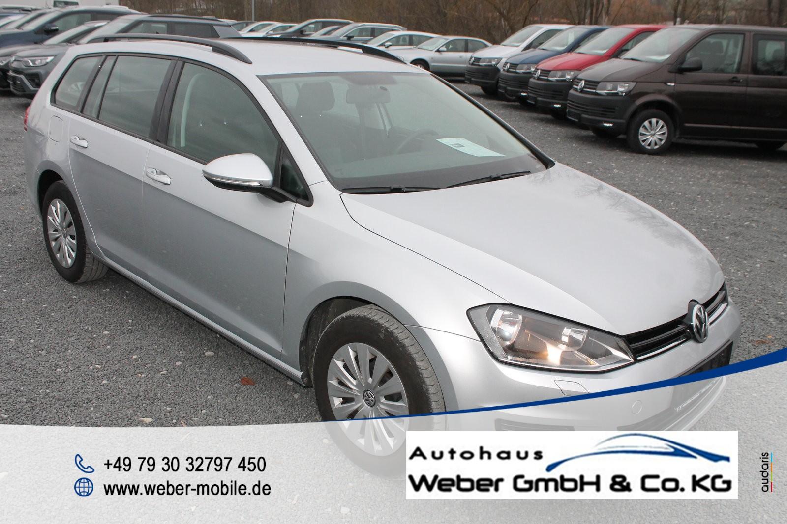 Volkswagen Golf VII Variant 1.6 TDI *Trendline*Navi*Tagfahrlicht*SHZ*Einparkhilfe vo+hi*, Jahr 2015, Diesel