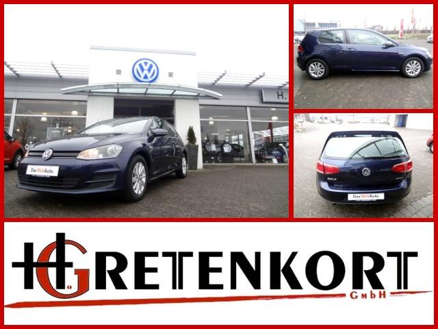 Volkswagen Golf 7 VII 1,6l TDI BlueMotion Technology Klima, Jahr 2013, Diesel