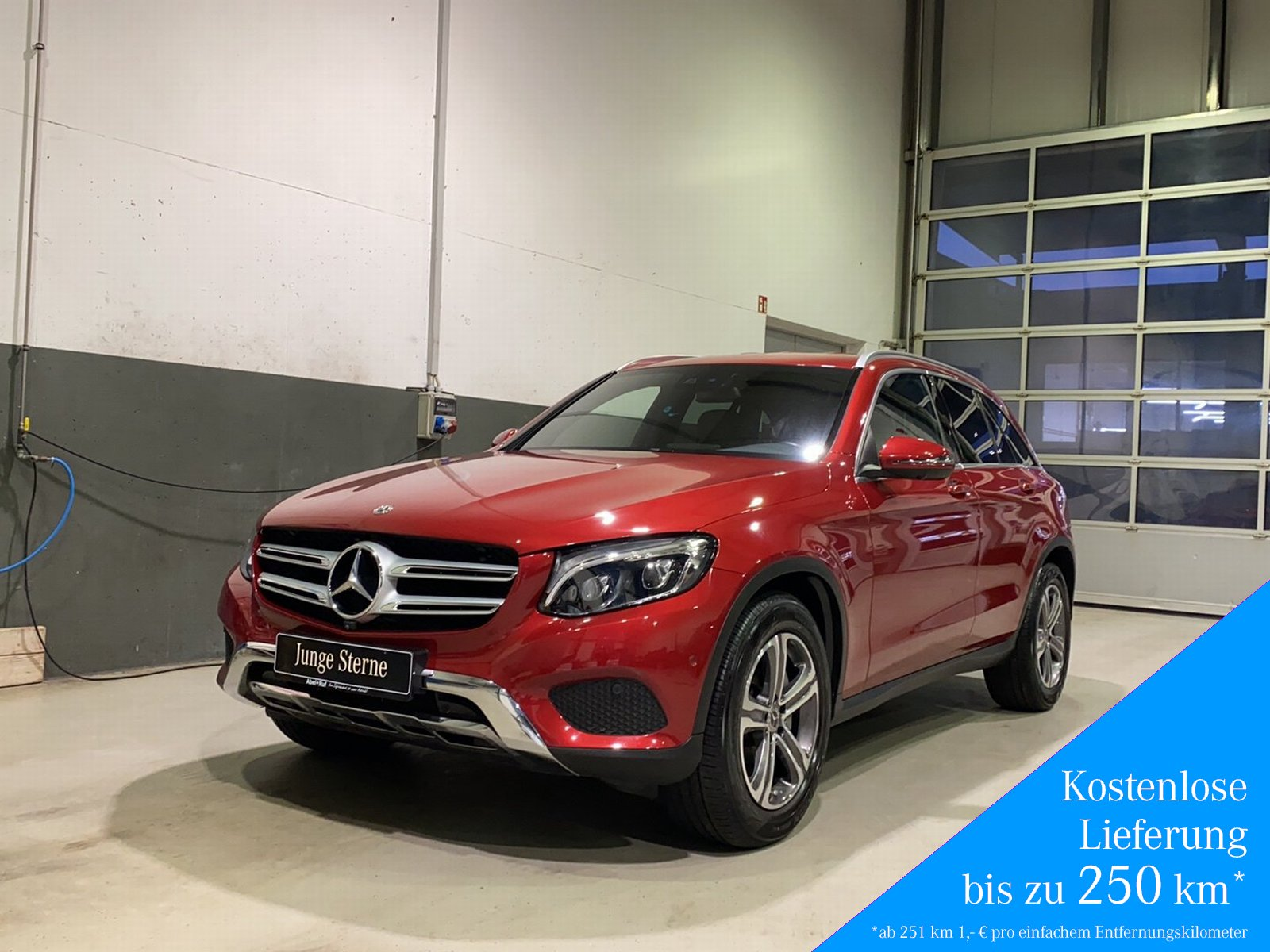 Mercedes-Benz GLC 350d 4M AMG+360°+COMAND+Kamera+AirBodyC.+LED, Jahr 2017, Diesel