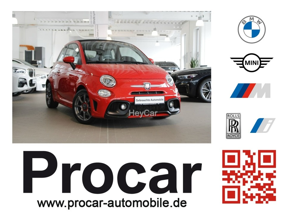Abarth 595C Sportsitze Rosso Fuoco, Jahr 2017, Benzin