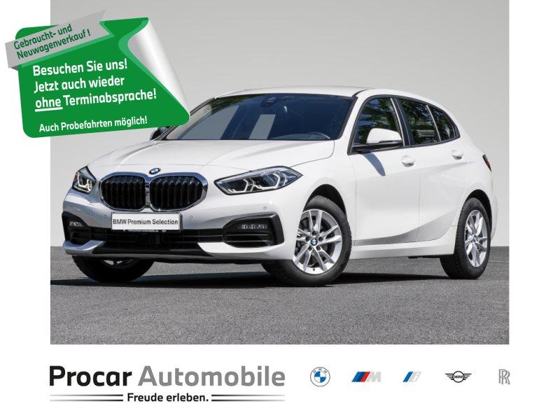 BMW 118i HATCH+LED+DAB+LIVE-COKPIT-PLUS+PDC+KLIMAAUT, Jahr 2020, Benzin