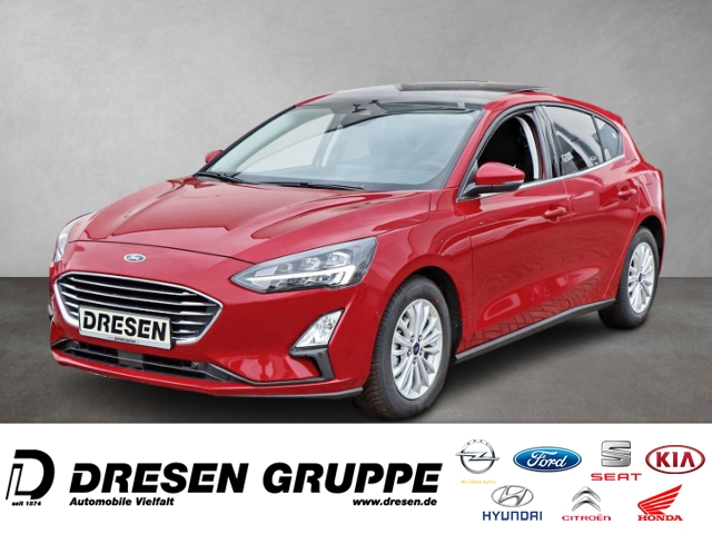 Ford Focus Titanium X Lim. 1,0L MHEV/PANO/LED/GANZJAHRESREIFEN/NAVI, Jahr 2021, Benzin