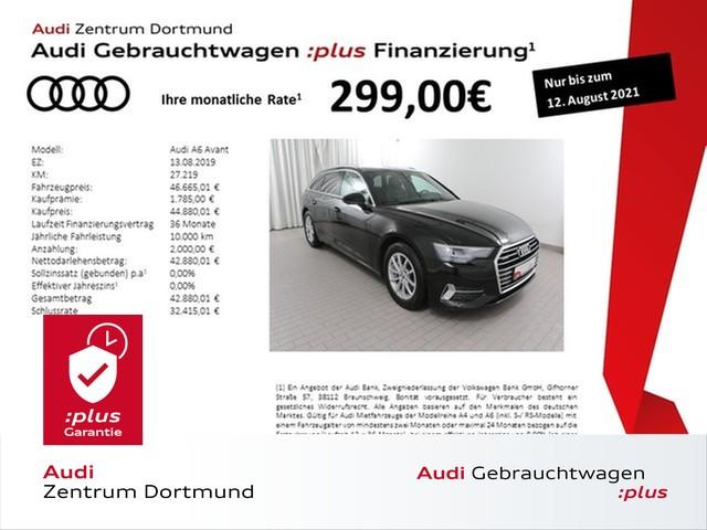 Audi A6 Avant 50TDI qu. sport Pano/AHK/Kam/eSitze, Jahr 2019, Diesel