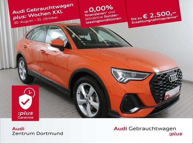 Audi Q3 Sportback 45TFSI qu. LED/Black/eSitze/KAM/VC, Jahr 2020, Benzin