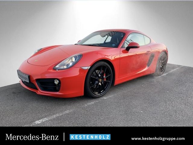 "Porsche Cayman S NAVI+BOSE+PTS+KLIMAAUTOM +XENON+20""LMR, Jahr 2013, petrol"