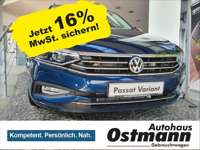 volkswagen passat variant tsi 140 kw 190 ps business , jahr 2019, benzin