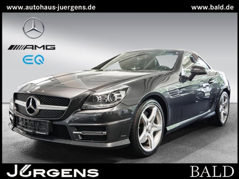 Mercedes-Benz SLK 200 AMG-Sport/Navi/IntelligentLight/SHZ/18', Jahr 2015, Benzin