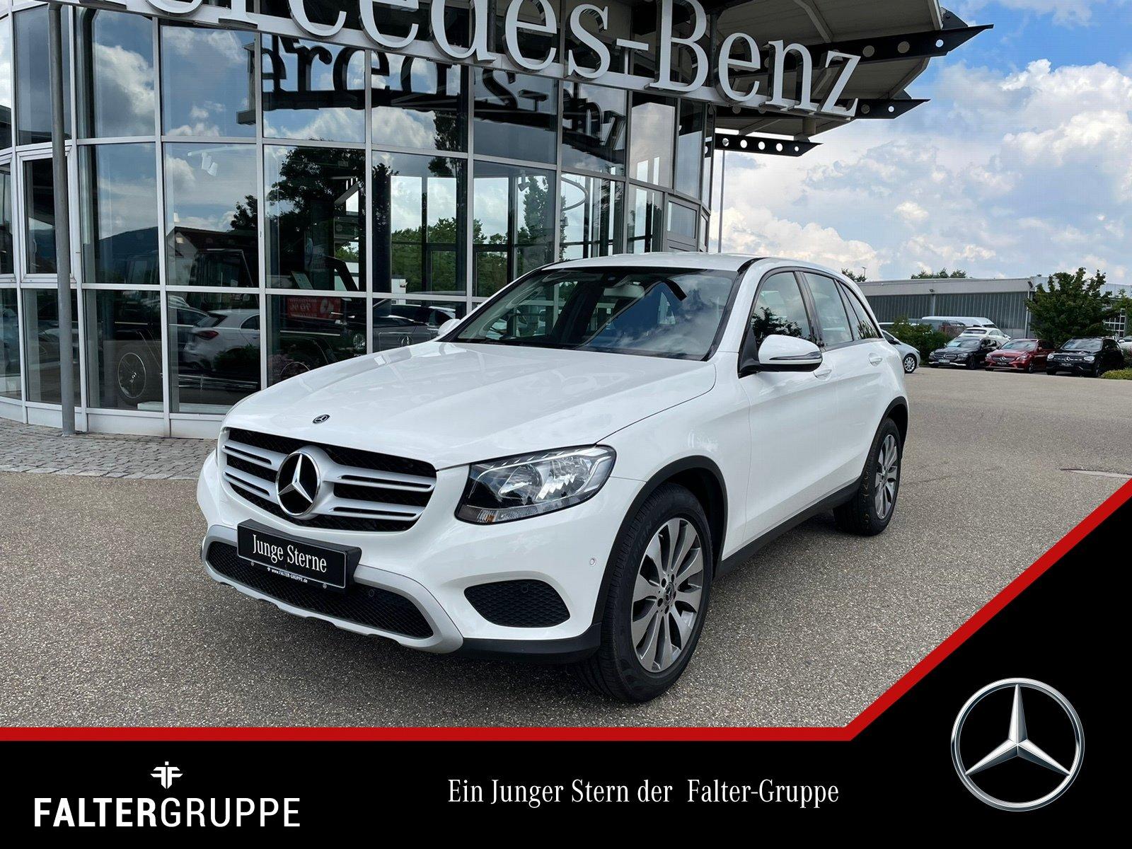 Mercedes-Benz GLC 250 4M GUT&GÜNSTIG! Standhzg AHK Kamera Navi, Jahr 2017, Benzin