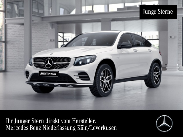 Mercedes-Benz GLC 43 4MATIC Coupé Sportpaket Bluetooth Navi LED, Jahr 2017, Benzin