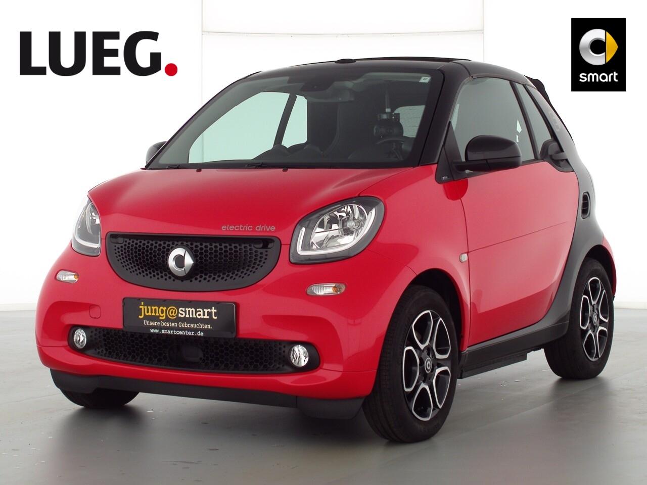 smart fortwo cabrio (11.2015->), Jahr 2018, Elektro