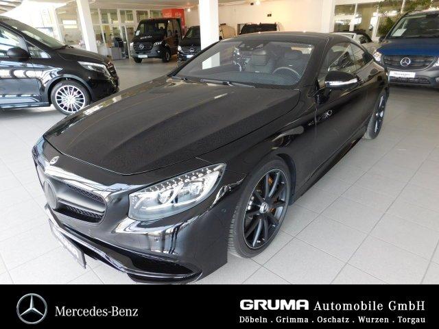 Mercedes-Benz S 63 4M Coupé Night STANDHZG+PANOD+MEMOR+KERAMIK, Jahr 2017, Benzin