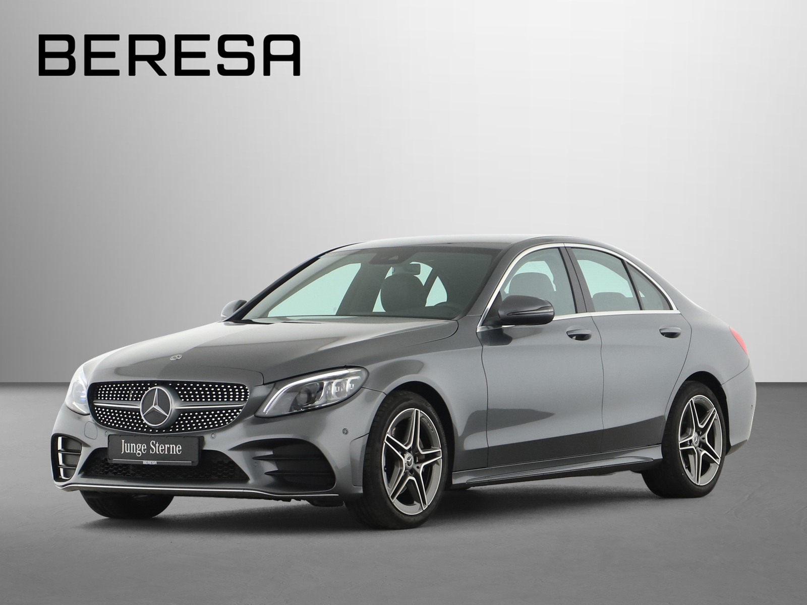 Mercedes-Benz C 180 AMG Spur-P. LED Kamera Navi PDC, Jahr 2019, Benzin