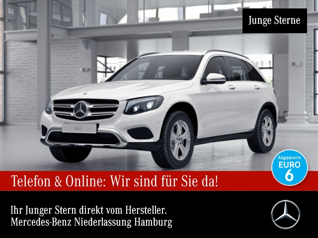 Mercedes-Benz GLC 220 d 4M Exclusive Fahrass Distr. ILS LED AHK, Jahr 2018, Diesel