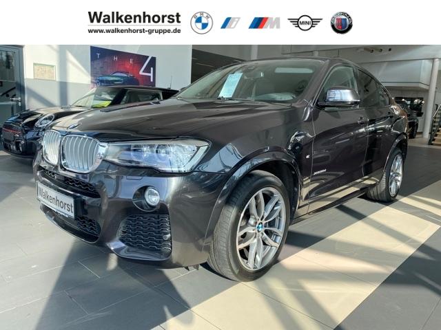 BMW X4 xDrive30d M-Sportpaket DrivingAssPlus HeadUp Glasdach SpeedLimit LichtPaket, Jahr 2015, Diesel