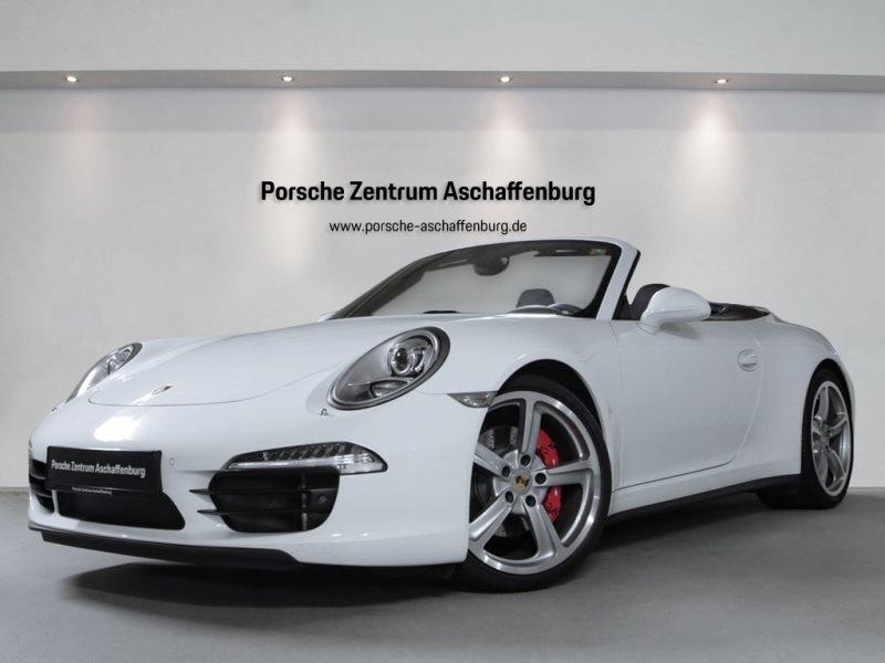 Porsche 911 Carrera 4S Cabriolet Naturleder Bose S-AbGas, Jahr 2013, Benzin