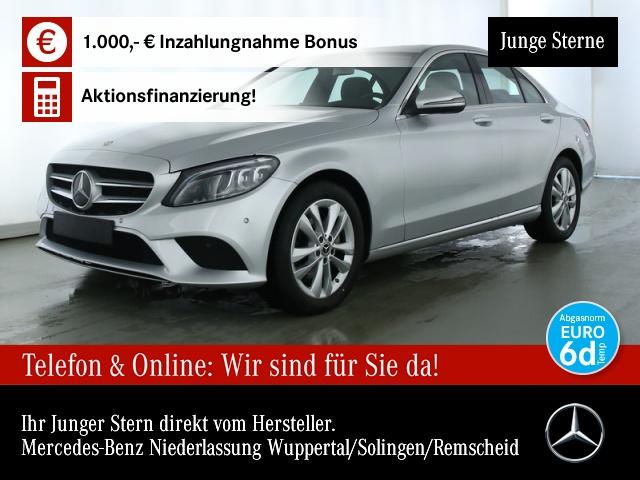 Mercedes-Benz C 200 d Avantgarde Multibeam SHD Spurhalt-Ass PTS, Jahr 2019, Diesel