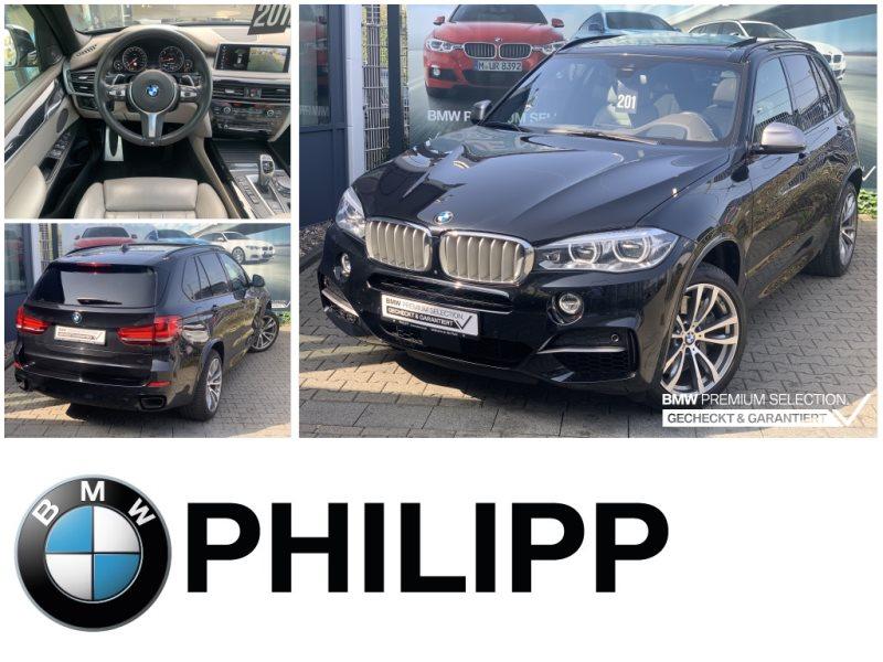 BMW X5 M50d M Sportpaket HUD h&k DAB LED Pano, Jahr 2017, Diesel