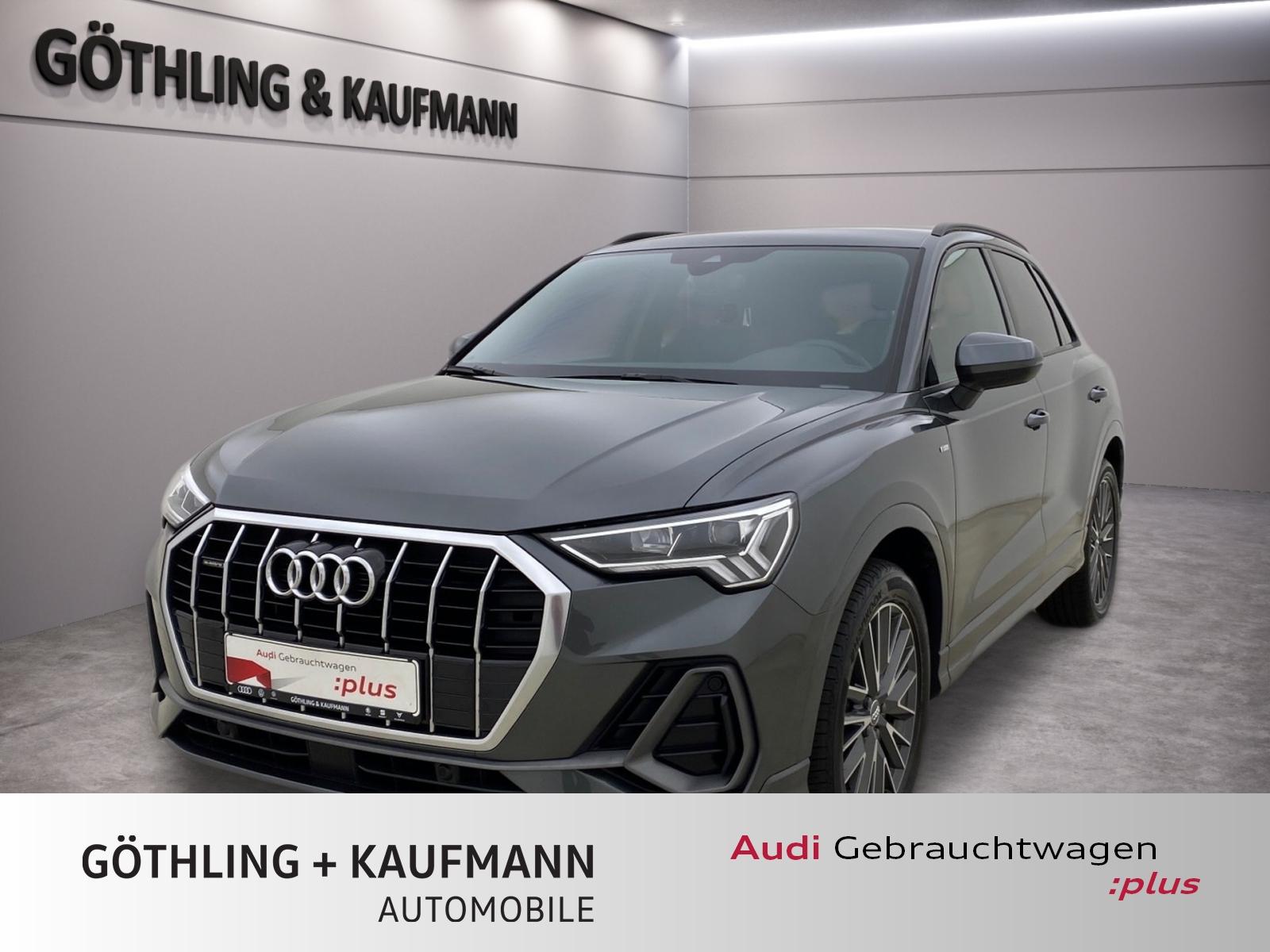 Audi Q3 40 TFSI qu. 2x S line*LED*Virtual*Navi+*Assis, Jahr 2020, Benzin