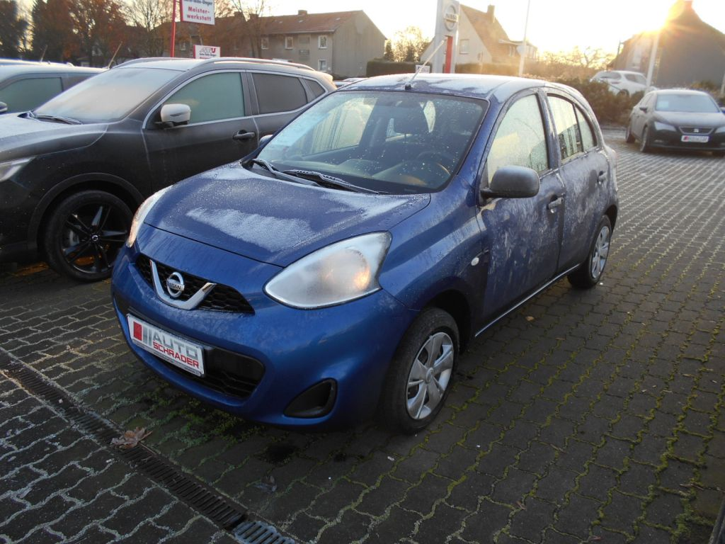 Nissan Micra 1.2 Visia First KLIMA RADIO, Jahr 2015, petrol