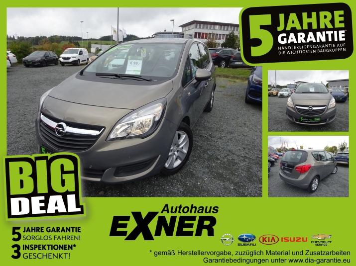 Opel Meriva B 1,4 Edition wenig Kilometer und Scheckh, Jahr 2014, Benzin