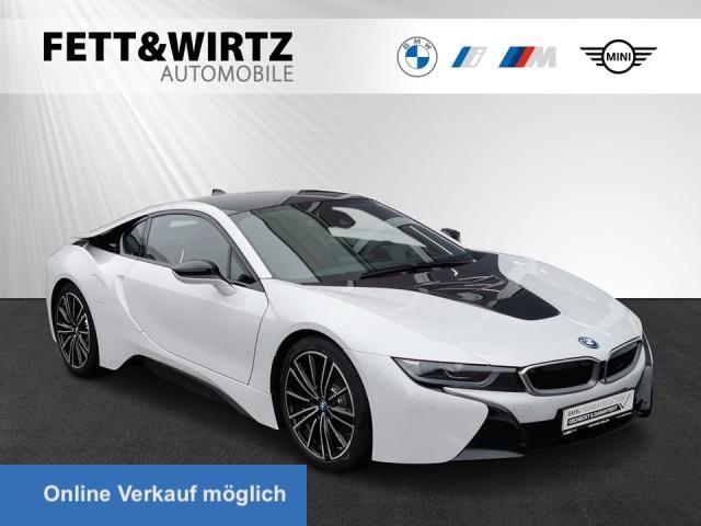 BMW i8 Coupe Laser HUD H/K 20'' Leas ab 845,- br.o.A., Jahr 2020, Hybrid