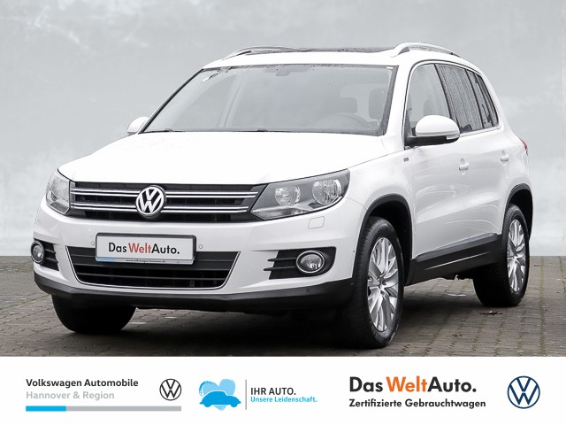 Volkswagen Tiguan 2.0 TDI Life AHK Panorama PDC Klima SHZ, Jahr 2013, Diesel