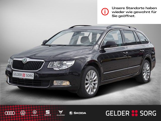 Skoda Superb Combi 2.0 TDI Exclusive *Navi*Xenon*AHK*, Jahr 2013, Diesel