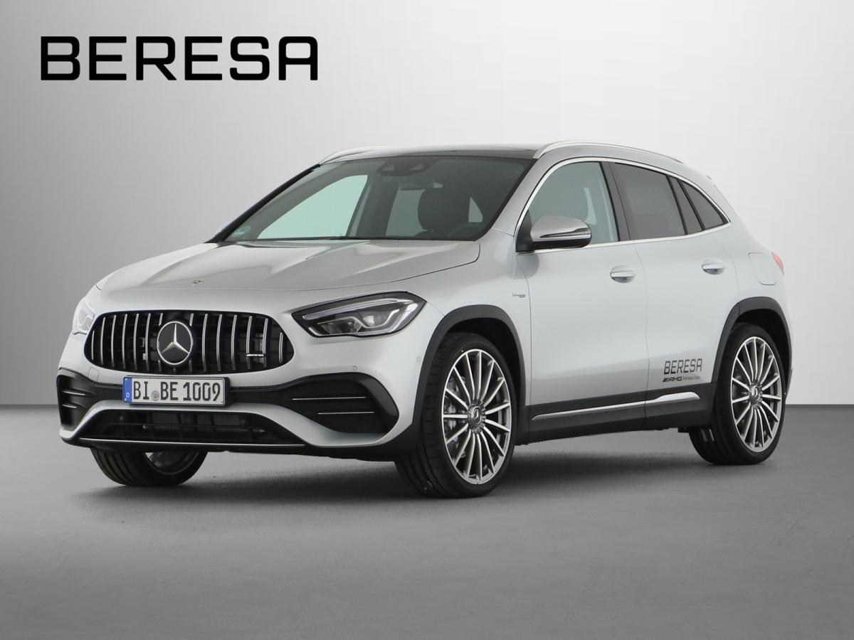 Mercedes-Benz GLA 35 AMG 4M Designo Burmester Fahrassist., Jahr 2020, Benzin