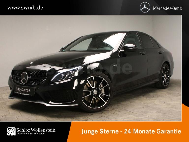 Mercedes-Benz C 450 AMG 4M 1Hd/AMG/DISTRONIC/HuD/KeylessGo/19Z, Jahr 2015, Benzin