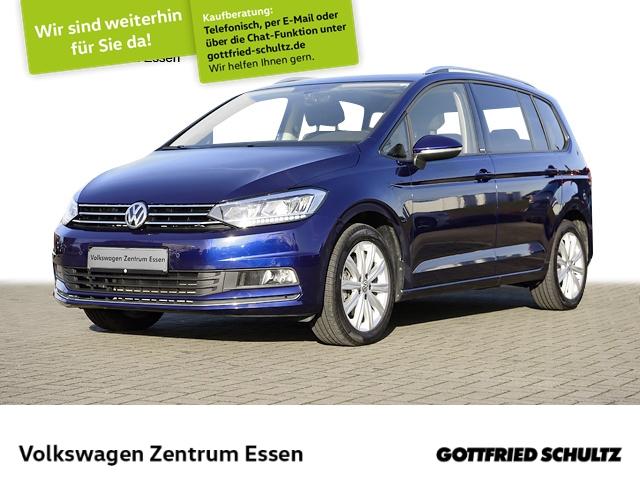 Volkswagen Touran United 1,5 TSI DSG Pano LED RK Navi, Jahr 2020, Benzin