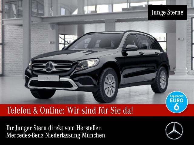 Mercedes-Benz GLC 220 d 4M Distr. AHK Kamera Navi Spurhalt-Ass, Jahr 2017, Diesel