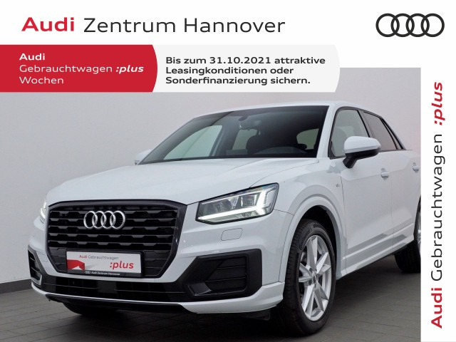 Audi Q2 35 TDI sport, S-line, AHK, LED, Navi, Keyless, Teilleder, Jahr 2020, Diesel