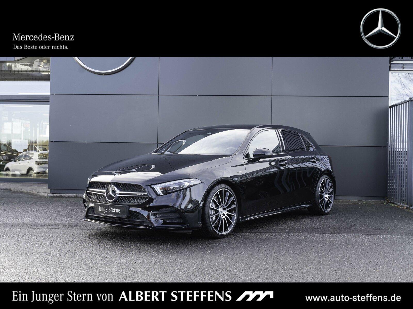 Mercedes-Benz Mercedes-AMG A 35 4M Navi+Multib+SHZ+MBUX+Kamera, Jahr 2019, Benzin