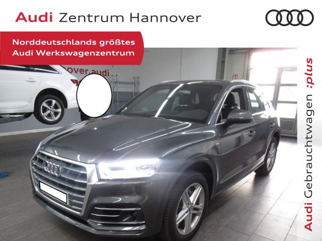 Audi Q5 2.0 40 TDI Sport, S line, LED, Navi, AHK, virtual Cockpit, Jahr 2020, Diesel