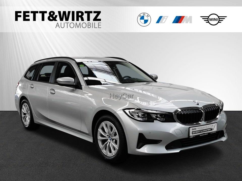 BMW 318d Touring Adv. Sports. LC+ Standhzg 17'', Jahr 2020, Diesel