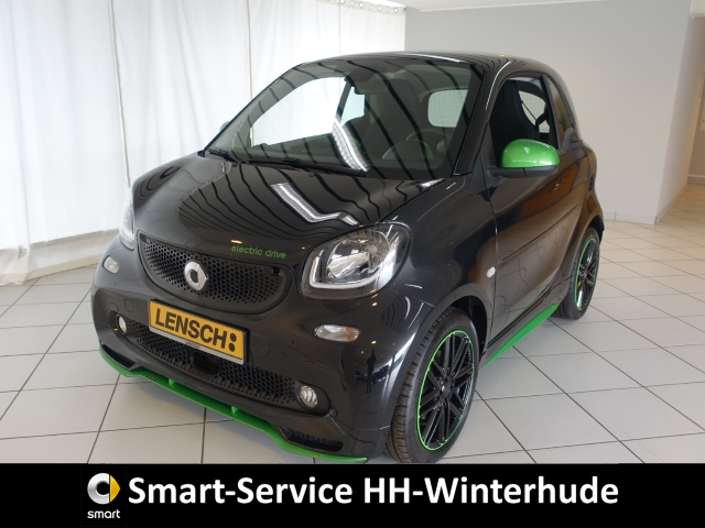 smart fortwo BRABUS tailor made ED edition greenflash, Jahr 2019, Elektro