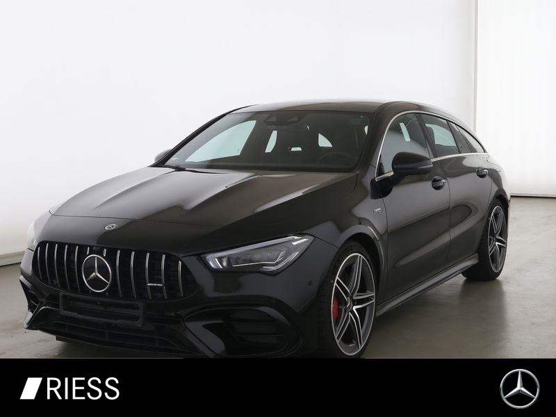 Mercedes-Benz CLA 45 S AMG 4M+ SB Pano Multi HUD Perf Drivers, Jahr 2020, Benzin