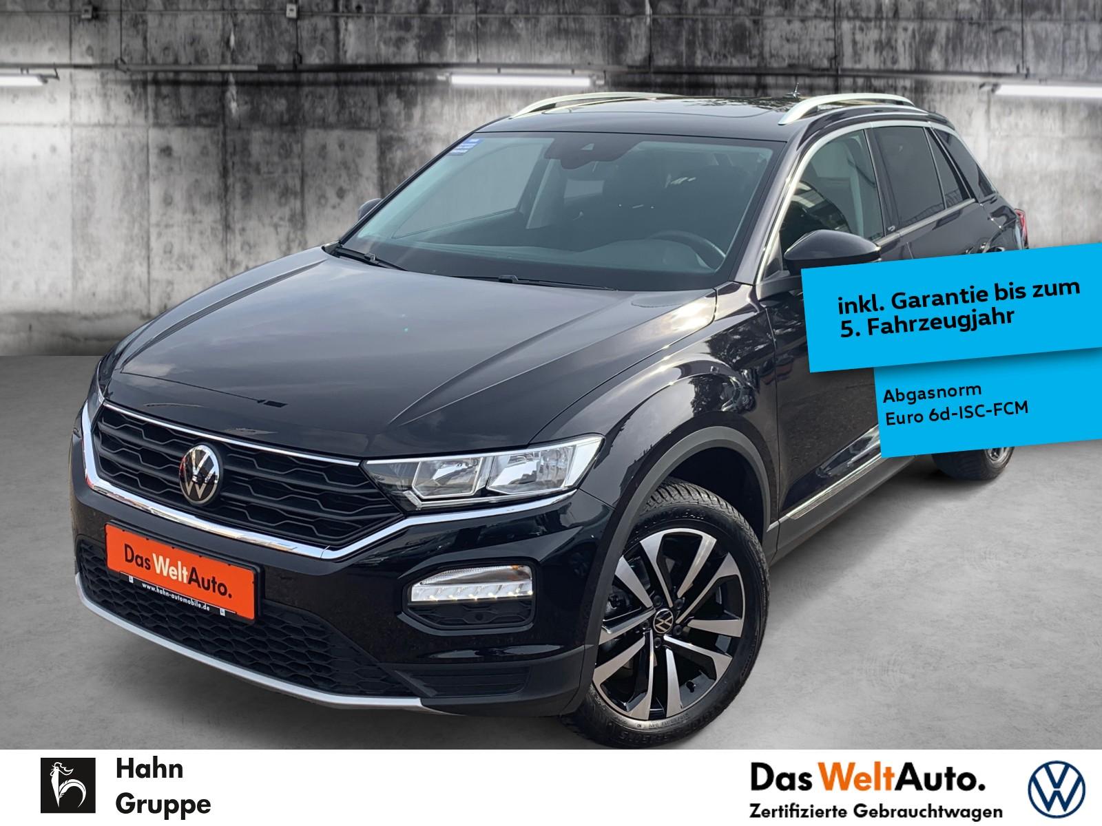 Volkswagen T-Roc UNITED 1,5TSI Navi Pano AHK MFL VZE eHeck, Jahr 2021, Benzin