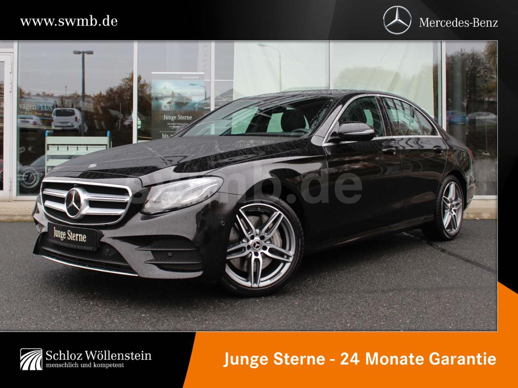 Mercedes-Benz E 450 4M AMG Multibeam/Comand/Distronic/360°/19Z, Jahr 2019, petrol