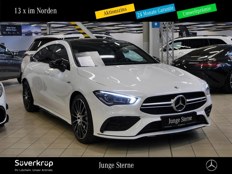 Mercedes-Benz CLA 35 4M SB AMG NAVI+PANO+KAMERA+STANDHZ+APPLE, Jahr 2019, Benzin