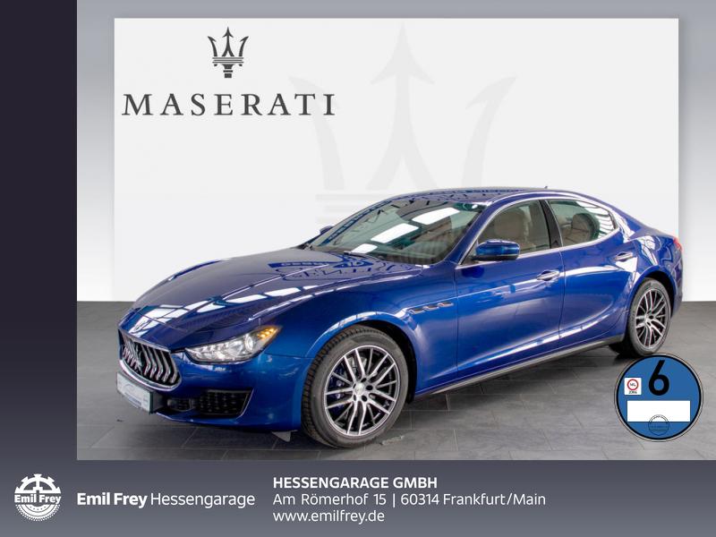 Maserati Ghibli Diesel ZF-Aut. Navi Xenon DAB Totwinkel, Jahr 2018, Diesel