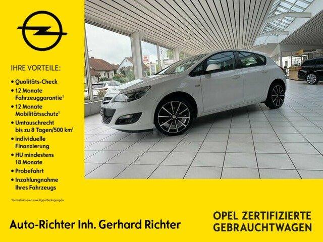 Opel Astra 1.6 Selection, Jahr 2015, Benzin